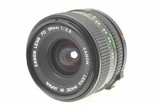 Genuine CANON FD 28mm F2.8 Lens Canon Camera Lens