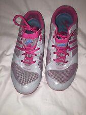 Zapatillas Adidas Para Mujer fluido-Plata/Rosa-Reino Unido 7 EUR 402/3