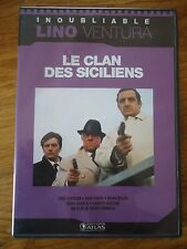 * LE CLAN DES SICILIENS * COLLECTION LINO VENTURA GABIN DELON VERNEUIL ATLAS DVD