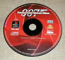 007 Tomorrow Never dies Ps1 psx Sony PlayStation gioco game prima stampa