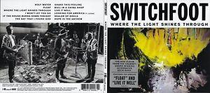 SWITCHFOOT - WHERE THE LIGHT SHINES THROUGH [CD, 2016 VANGUARD, DIGIPAK]