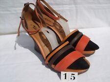Tamaris Touchit Sling Sandaletten Leder Gr. 5 Abs. 6,5 cm sehr gut erhalten