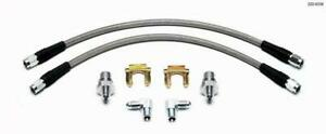 Wilwood 220-8338 Flexline Kit, 1988-1996 Corvette w/ SL4 or SL6 Front Caliper