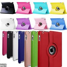 "For Apple iPad 10.2"" 2019 7th Generation 360 Rotating Leather Smart Case Cover"