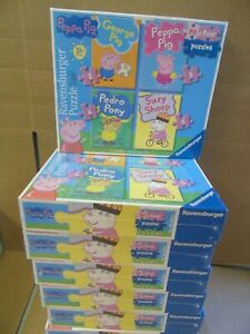 BRAND NEW Peppa Pig 4 in a Box Jigsaw Puzzle Ages 18 Months and Up #1
