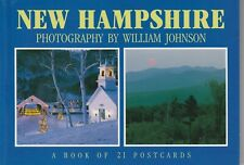 A 21 Postcard Book of New Hampshire by BrownTrout Staff (1996, Paperback)