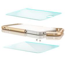 Glas + Aluminium Bumper für Apple iPhone 5 5S SE - Alu Case Tasche Schutz Hülle