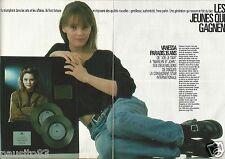 Coupure de presse Clipping 1988 Vanessa Paradis  (3 pages)