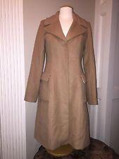Women's Worthington Wool Blend Long Coat Camel Color- Size Medium•Excellent Cond