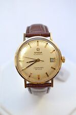 W372- OMEGA SEAMASTER DEVILLE STEEL AUTOMATIC 34mm VINTAGE MEN WATCH