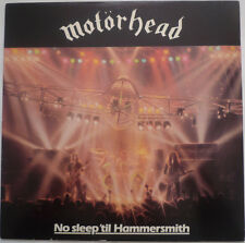 MOTORHEAD NO SLEEP 'TILL HAMMERSMITH MERCURY RECORDS REISSUE LP VINYLE NEUF NEW