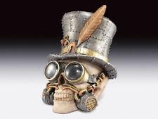Steampunk Skull. Mr. High Hat