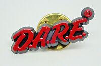 D.A.R.E Drug Abuse Resistance Education retro Vintage Lapel Pin