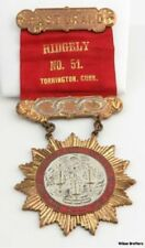 Past Grand Odd Fellows Medal - Ridgely Ribbon Lodge of Connecticut 1840 FHC