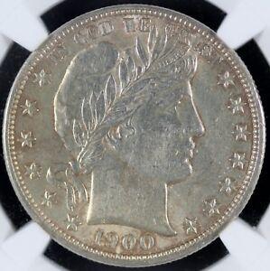 1900 Barber Half Dollar NGC AU55