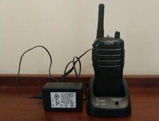 ICOM WALKIE TALKIE IC F24S + ICOM BC 160 charger