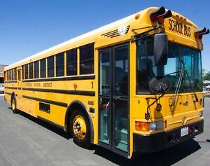 2004 International RE300 School Bus,Green Diesel, 84 Passenger, 116K miles VIDEO