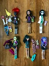 Monster High Dolls I heart fashion Whisp, Clawdeen, Wydowna, Cleo, Scarah, Iris