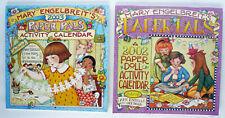 Mary Engelbreit'S Paper Pals 2002 & 2003 Paper Doll Calendar Ann Estelle