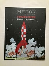 Tintin - Catálogo ventas BD L MILLON'Universo d Hergé Cohete 13/12/2015 - Nuevo