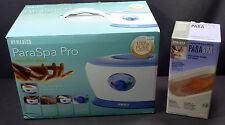 New Homedics Para Spa Pro Paraffin Bath Model PAR-150 w/ Extra Wax