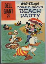 DONALD DUCK BEACH PARTY #6 - Dell Giant - Disney