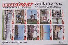 Stadspost Kollum Regio Post 1994 - Velletje Bezienswaardigheden ongetand 50c.