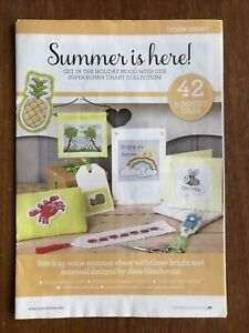 Collection of Summer Mini Cross Stitch Charts x 42  **from a magazine**