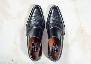 NWOB $1690 A.TESTONI Brogue Loafer Shoes 10.5UK/11.5US/44.5EU EE Width