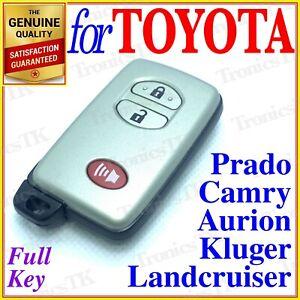 FOR TOYOTA SMART KEY LANDCRUISER / PRADO / CAMRY / KLUGER / AURION - 3 BUTTON