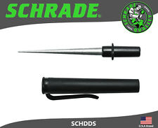 Schrade Compact Pocket Carry Diamond Dust Tapered Sharpening Rod SCHDDS