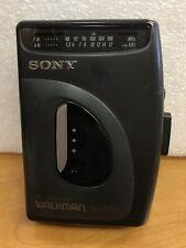 Vintage SONY WM-FX21 Walkman Cassette Player AM/FM Radio W/ Belt Clip - Tested