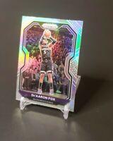 2020-21 Panini Prizm De'Aaron Fox Silver Prizm Sacramento Kings Card #13💥