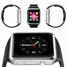 BLUETOOTH SMART WATCH FOR ANDROID & dispositivi iOS costruito in Mic TF CARD SIM