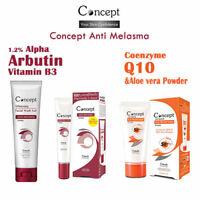 Concept Facial Anti Melasma Complete Set 3 Steps Reduce Blemish Freckle Spots
