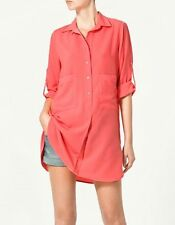 Zara Collared Casual Tops & Shirts for Women