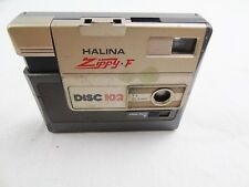 VINTAGE HALINA ZIPPY F DISC 102 CAMERA
