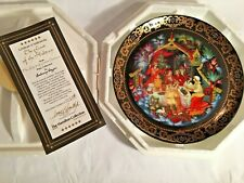 """The Hamilton Collection """"The Feast of the Holiday"""" 1994 Plate #1055A"""