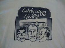Vintage Gerald Ford Presidential Museum The Grand Ronald Reagan Nixon T Shirt M