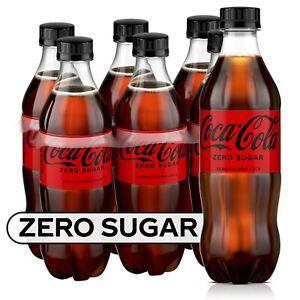 Coke Zero Sugar Soda Soft Drink, 16.9 fl oz, 6 Pack, Free Shipping