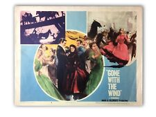 """""""GONE WITH THE WIND"""" ORIGINAL 11X14 AUTHENTIC LOBBY CARD PHOTO POSTER 1968 #4"""