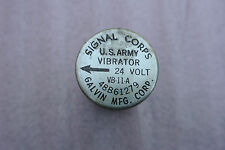 WWII Radio Military  AN/GRR 3 4 5 6 7 8  Vibrator  Radio Korean war
