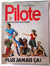 Pilote n°725 du 09/1973; Les sportifs....
