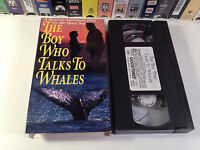 The Boy Who Talks To Whales Rare Family Adventure VHS 1975 OOP HTF Byrd Baker