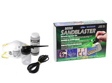 BADGER MINI SANDBLASTER SET - MODEL 260-1 -  NEW IN BOX - UK SUPPLIER