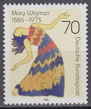 GERMANY federale BRD 1986 ** Mer 1301 Compleanno Birthday Mary Wigman
