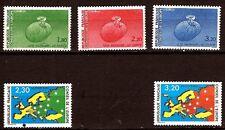 317 FRANCE Conseil de l'europe 5 timbres neufs N°YT 85à87 & 104/105 Port gratuit