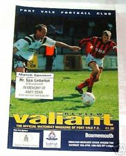 Port Vale -v- Bournemouth  1993-1994