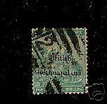Bechuanaland 9 used catalog $175.00