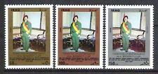 IRAQ GENERAL DEPUTY COMMANDER-IN-CHIEF ARMED FORCES Scott No. 1398 - 1400 MNH